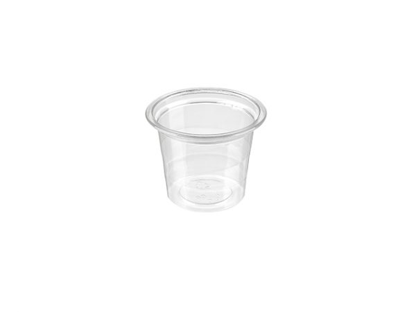 1oz Clear PET Portion Pot